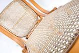 Кресло качалка светлое сетка, фото 4
