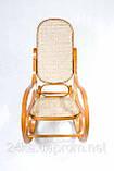 Кресло качалка светлое сетка, фото 5