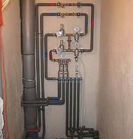 Разводка водопровода, прокладка труб