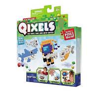 Игровой набор аквамозаики из пикселей - МОРЕ (500 фишек, спрей, шаблоны, аксессуары)