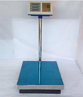 Весы торговые напольные, стойка с платформой, max  100 кг, счетчик цены