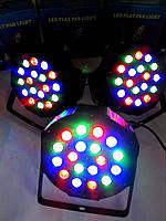 Светодиодный прожектор 18*1  / led par dmx  для праздника