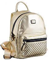 Сумка-рюкзак, золотая, 19,5*25*11 см, 553239