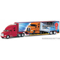 Машина Kenworth T700 with Container KT1302W  Kinsmart Китай
