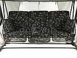 Садовая качеля Dominus, москитная сетка, 4 человека, фото 2