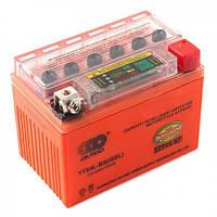 Outdo YTX4L-BS с индикатором заряда, аккумулятор 12V 4Ah гелевый