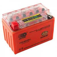Outdo YTX9-BS (iGEL) 12V 9Ah с индикатором заряда. Аккумулятор