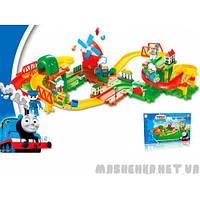 """Железная дорога """"Томас"""" на батарейках  в коробке  TM-2104  Китай"""