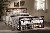 Кровать Venecja bis 140*200 античная вишня (Signal TM)