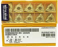 Твердосплавные пластины сменные для резцов WNMG080404-MA UE6020 MITSUBISHI