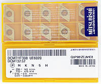 Твердосплавные пластины сменные для резцов DCMT11T308 UE6020 MITSUBISHI