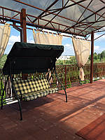 Прозрачные шторы для беседок и верандс пропиткой - от мух и комаров, фото 1
