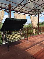 Прозрачные шторы для беседок и верандс пропиткой - от мух и комаров
