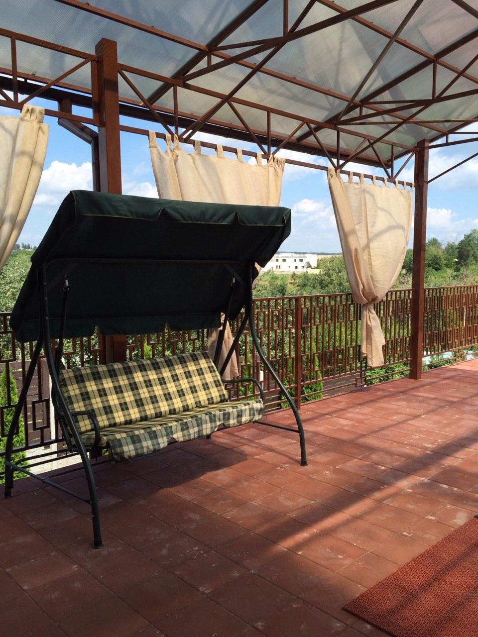 Прозрачные шторы для беседок и верандс пропиткой - от мух и комаров - Wood Luxury в Киеве