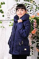 Куртка демисезонная с сумочкой для девочки