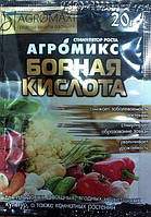 "Микроудобрение ""Борная кислота"" ТМ ""Агромакси"" 20г"