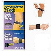Магнитные повязки на запястье и колено Power Magnetic (магнит наколенник Павер Магнетик), фото 1