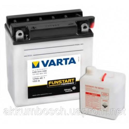 VARTA MOTO FUNSTART 509014008 (12N9-4B-1 YB9-B) - интернет-магазин accumulator.net.ua в Киеве