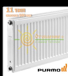 Радиатор стальной Purmo 11 тип 500х400 боковое подключение