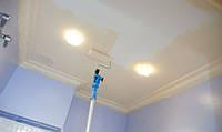 Покраска стен, потолков водоэмульсионной краской