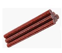 Клеевые стержени Клей с глиттером блестками Красный для термо-пистолета 8x100 мм 6 шт/уп