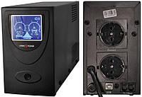 Источник бесперебойного питания  LogicPower UL850VA LCD (AVR), 510 Вт