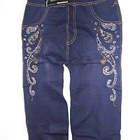 Модні джинсові Ластівка зі стразиками