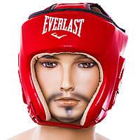 Шлем боксерский открытый Flex Everlast (красный, синий, черный)
