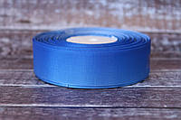"Лента репсовая градиент 2.5 см ""Омбре синий + светло-синий "" оптом"