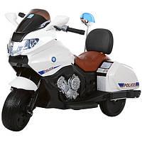 Детский мотоцикл полиция