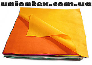 Фетр мягкий желтый (1,4 мм, 50см х 40см)