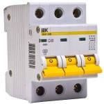 Выключатель автоматический ИЭК ВА 47-29 3р, хар-ка С, 4-63А