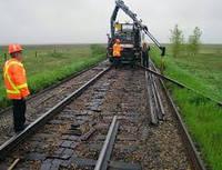 Демонтаж и покупка железнодорожных путей
