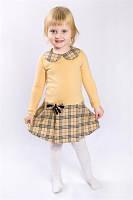 Платье трикотаж+полушерсть для девочки