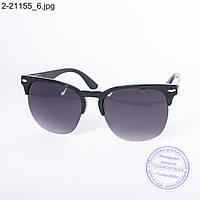 Солнцезащитные очки унисекс - черные - 2-21155, фото 1