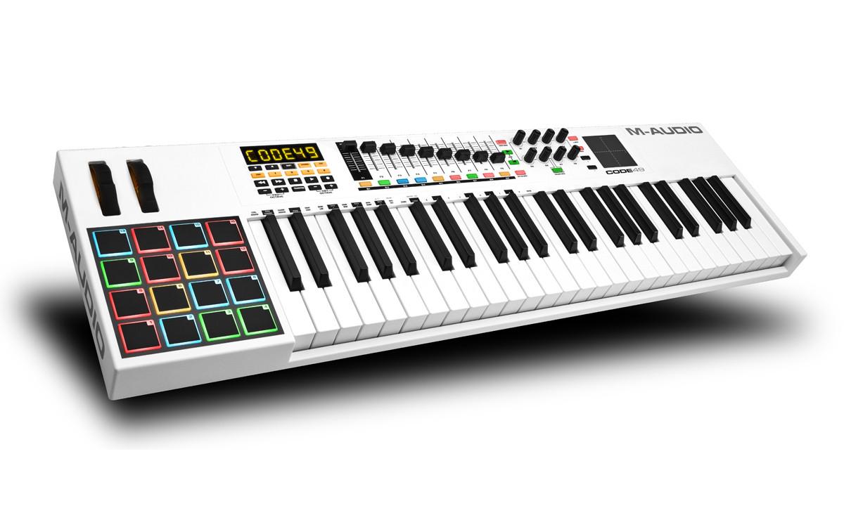 MIDI-клавіатура M-Audio Code 49