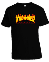 Футболка Thrasher Magazine Fire Logo