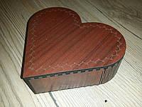 "Коробочка из дерева ""Сердечко"""
