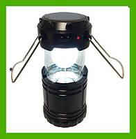 Кемпинговый фонарь на солнечной батарее G-85 Rechargeable Camping Lantern аккумуляторный, фото 1
