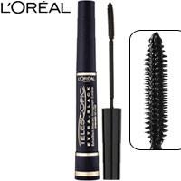 L'Oreal - Тушь для ресниц Telescopic Extra Black (разделяющая, ультра черная)