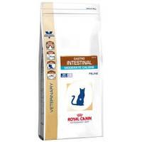 Корм для кошек лечебный Royal Canin (Роял Канин) Gastro Intestinal Moderate Calorie, 2 кг.