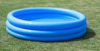 Детский надувной бассейн intex 58426 147х33см