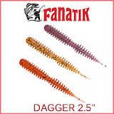 "Силикон Fanatik Dagger 2.5"" (8 шт)"