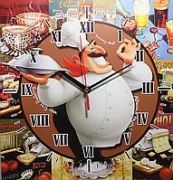 Часы настенные кухонные (310 Х 285)