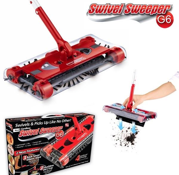 Электровеник Swivel Sweeper G6 ( Свивел Свипер Джи 6 ) , фото 1