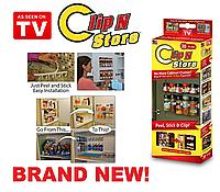 Органайзер для специй и соусов Clip in Store