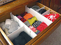 Разделитель для ящиков - Expandable Dresser Drawer Dividers
