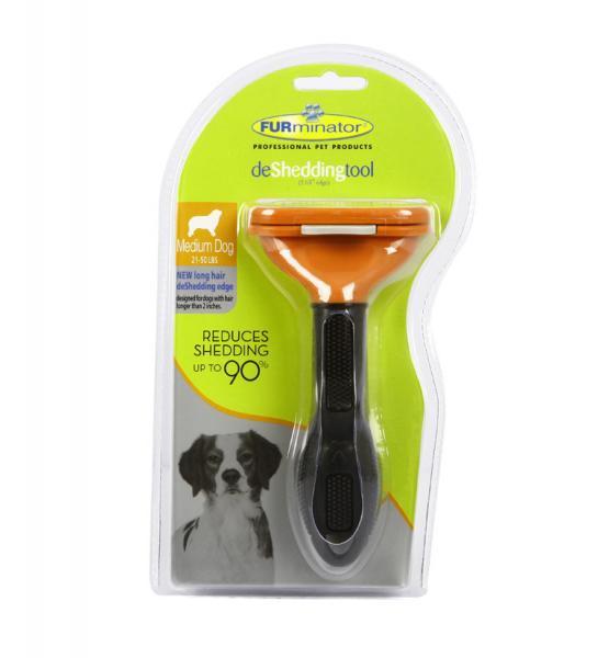 Фурминатор для средних собак Furminator Fobnimarut Medium Dog deShedding