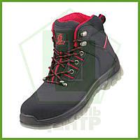 Ботинки рабочие с металлическим носком URGENT 124 S1_Red, нубук