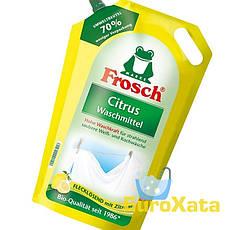 Органический гель для стирки Frosch Citrus Waschmittel (1,8л)